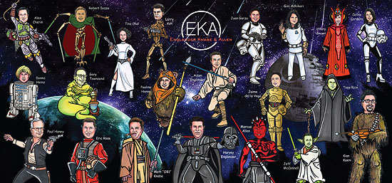 EKA Star Wars Holiday Card 2014