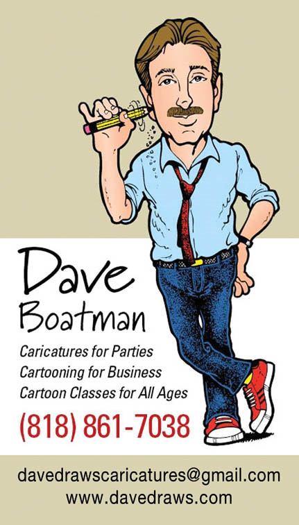 Dave Boatman Card